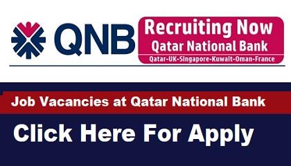 Qatar National Bank Careers 2021 - Qatar-Hong-Kong-Sudan-Saudi Arabia