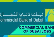 Latest Commercial Bank of Dubai CBD Jobs 2020