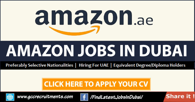 Amazon Careers 2021 Jobs in Dubai & Across UAE