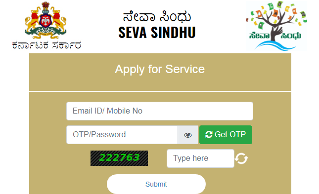 How to register in the Seva Sindhu portal?